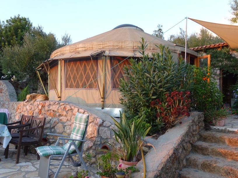 Yurt in Greece