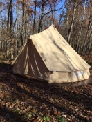 Optional Bell Tent at Stanley